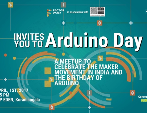 April 1 – Ardiuno Day 2017 Meetup
