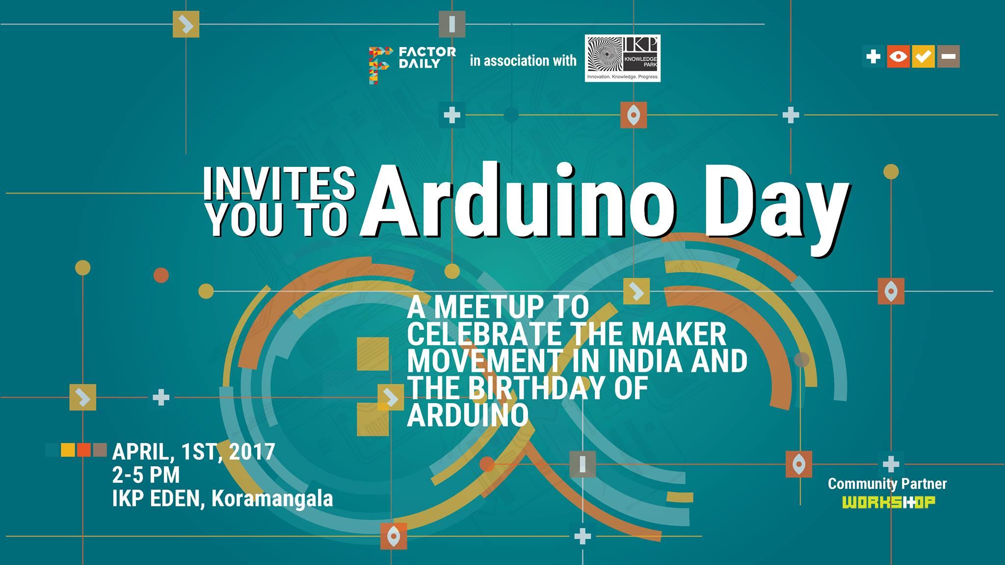 Ardiuno day 2017
