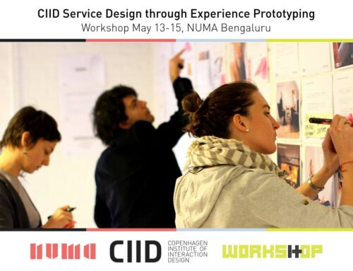 MAY 13 : Service Design with CIID