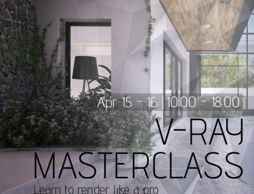 APRIL 15 : V-RAY Masterclass