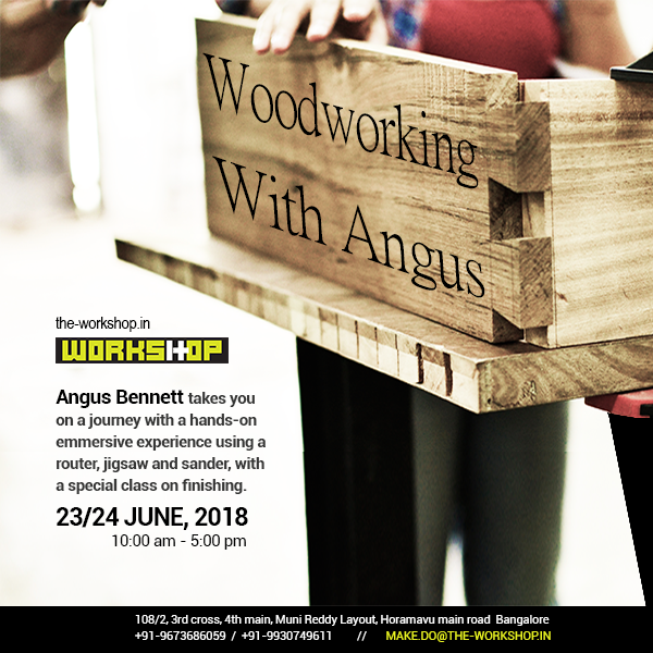 Woodworking with Angus