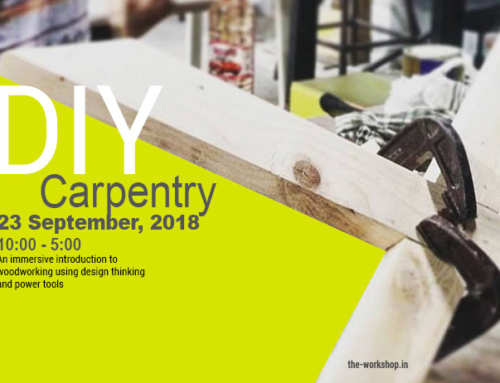 Sept 23 : DIY Carpentry